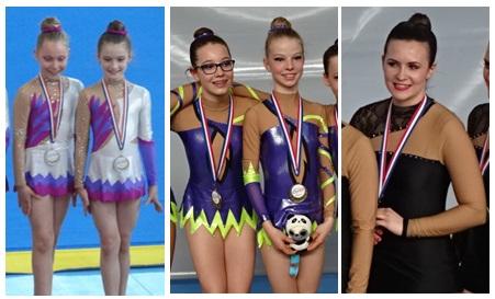 1 - Gymnastes sélectionnées championnat de France - 2016
