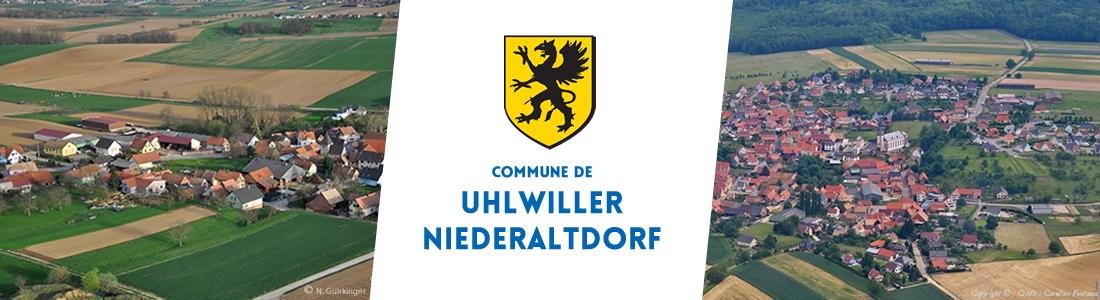 COMMUNE DE UHLWILLER NIEDERALTDORF Logo
